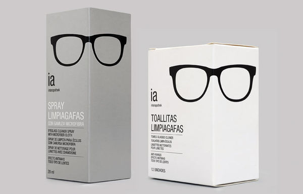 Interapothek Optical packaging