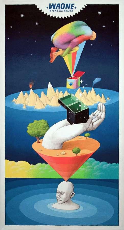 Fantastical Psychdelic Illustrations
