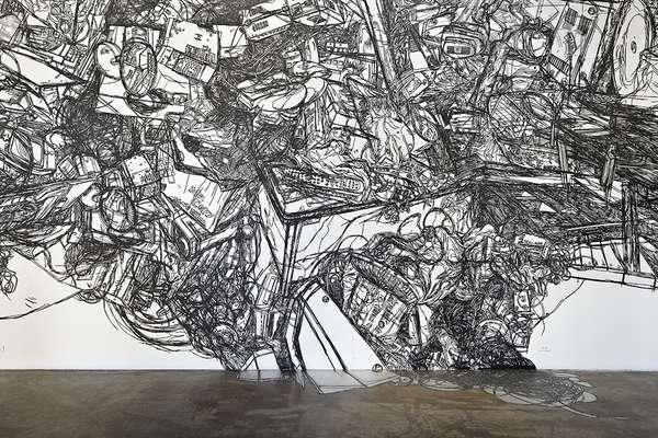Tumultuous Tape Graffiti