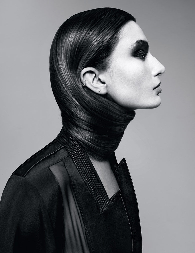 Haute Hair Wrap Editorials