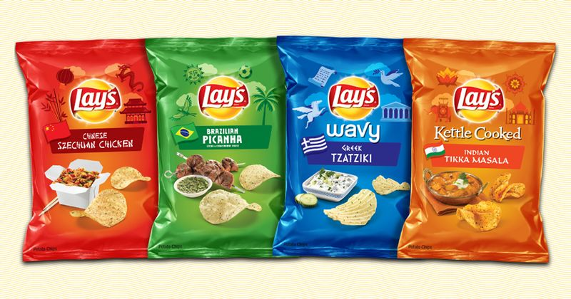 International Chip Flavors