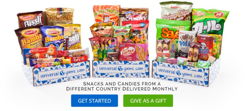 International Snack Food Subscriptions