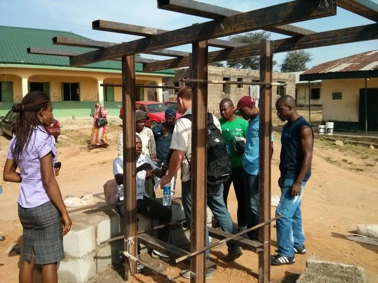 Solar-Powered Educational Kiosks