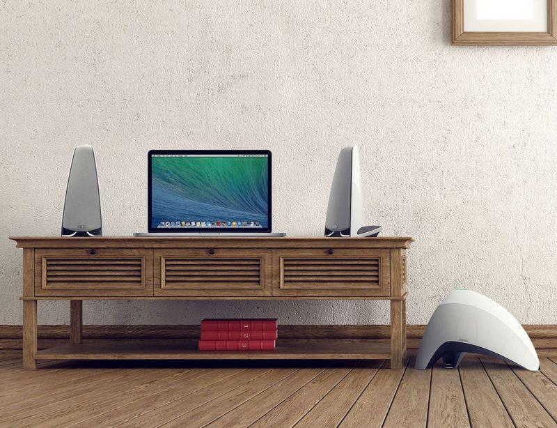 Sculptural Wireless Speakers