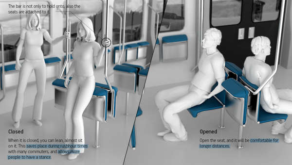 Versatile Subway Seats
