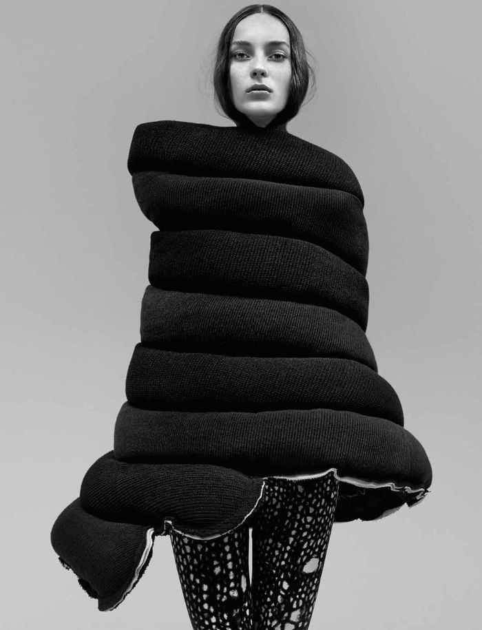 Scarf-Encircled Editorials