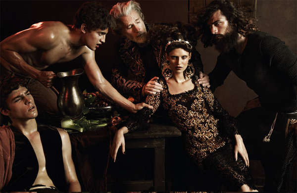 Darkly Baroque Editorials