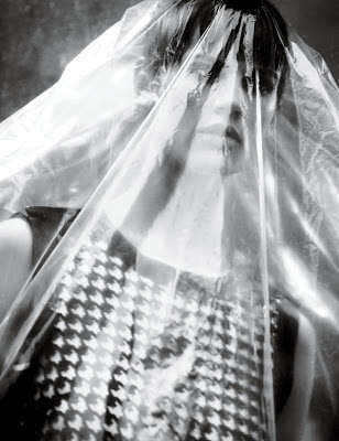 Couture Cling Wrap Editorials