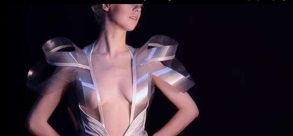 Futuristic Transparent Frocks