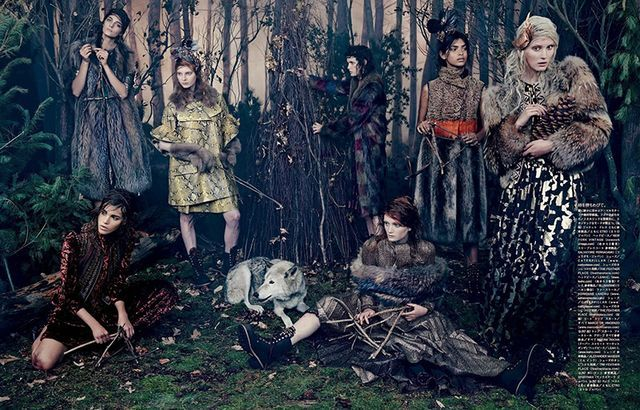 Wondrous Woodland Photoshoots