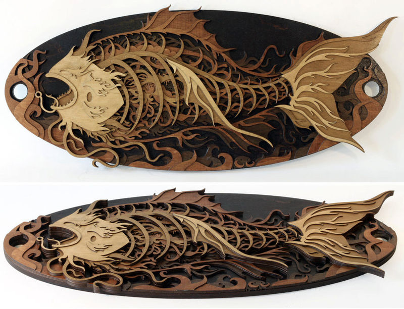 Intricate Wood Carvings