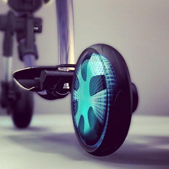 Auto-Folding Scooters