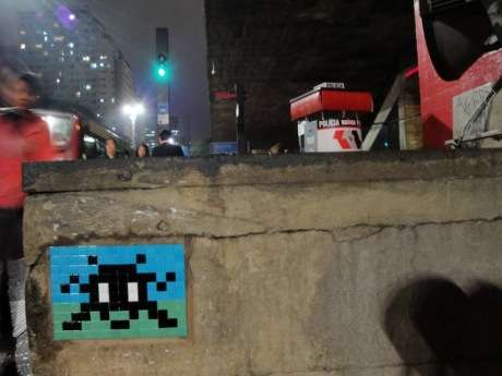 Pixelated Graffiti