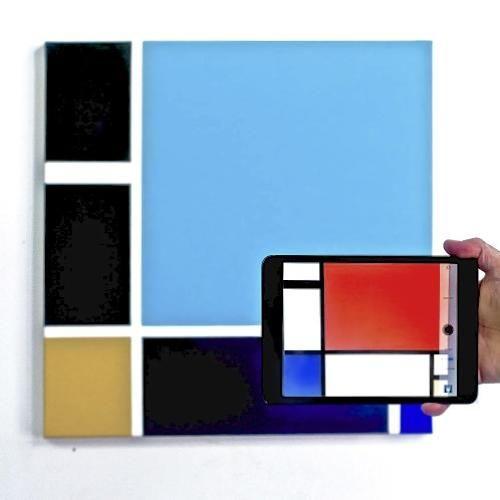 Phone-Scannable Paintings