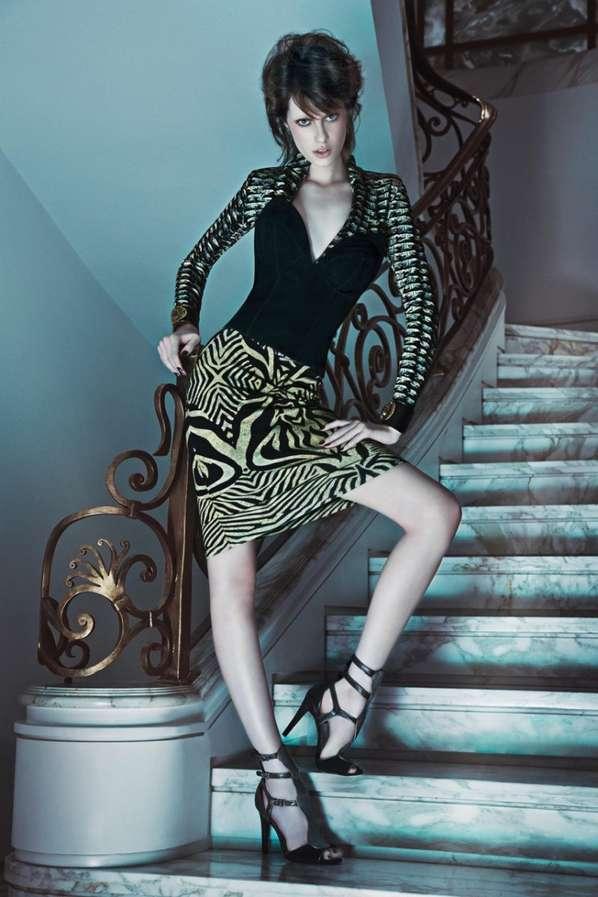 Elegant Vampiric Fashion Ads