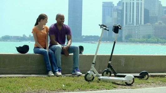Lightweight Electric Scooters