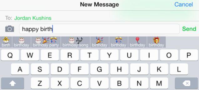 Sentence-Finishing Emoticon Apps