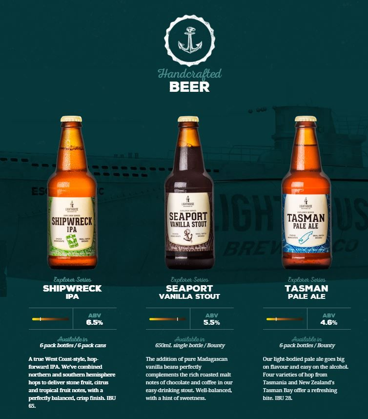 Coastal Craft Brew Designs