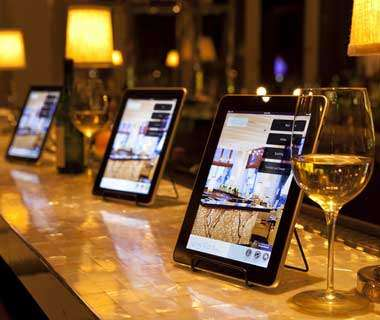 iPad assisted food ordering
