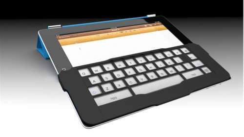 Tactile Tablet Overlays