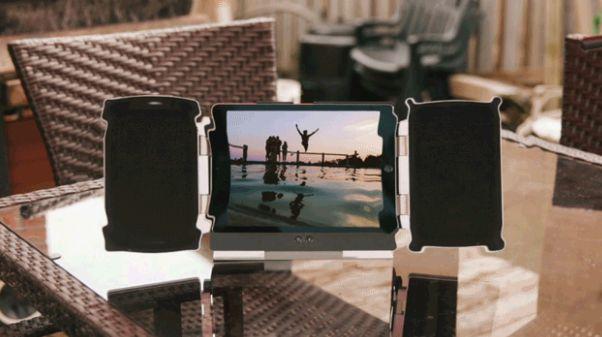 Amplifying Tablet Speakers