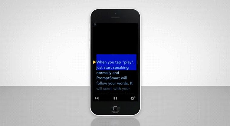 Voice-Recognition Teleprompter Apps