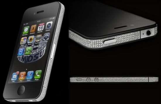 Luxuriously Icy iPhones