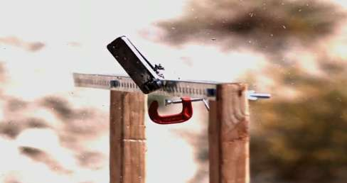 iPhone 4 Slow Motion Sniper Shot