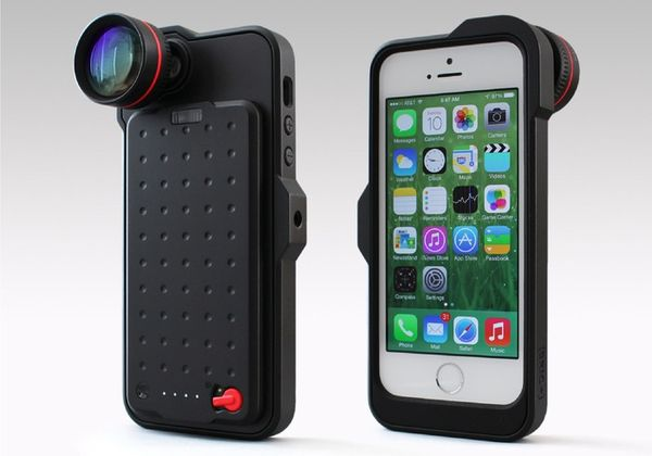Camera-Enabled Smartphone Cases