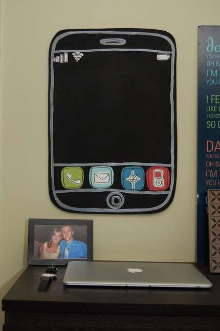 iPhone Chalkboard