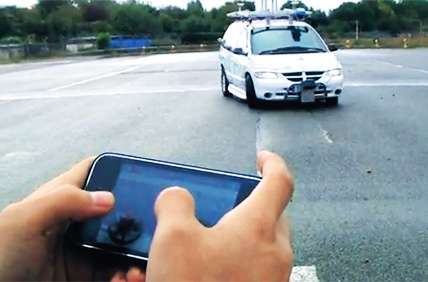 iPhone-Controlled Cars
