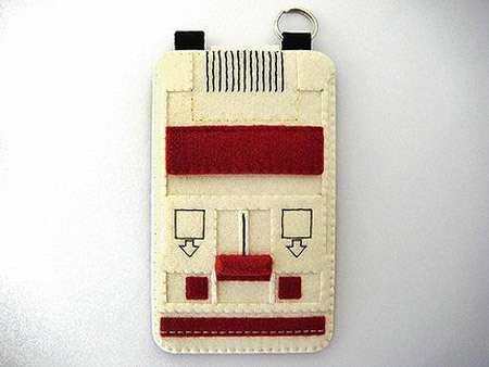 Nerdy Felt Phone Protection