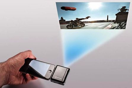 Led smartphone projectors iphone projector for Iphone 6 projector