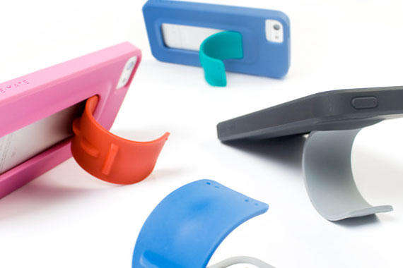 Snapping Silicone Phone Cases