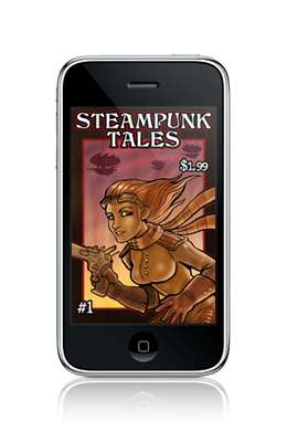 Electronic Steampunk Magazines