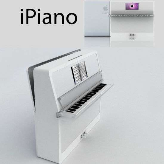 Touch-Screen Slider Pianos