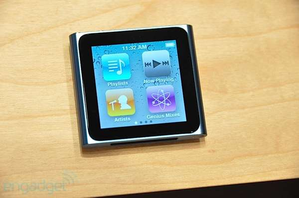 Miniature Touchscreen MP3s