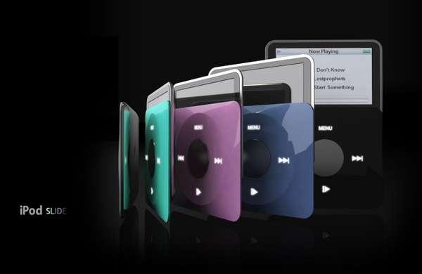 Screen-Retracting MP3s