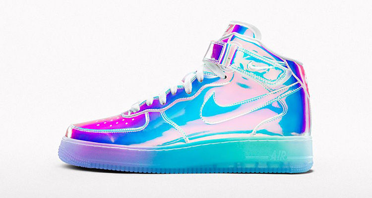 Custom Iridescent Sneakers