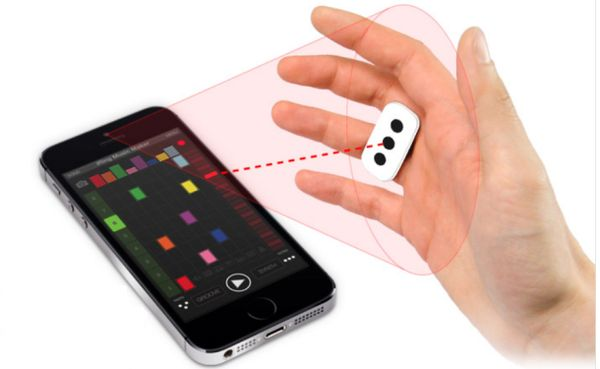 Gesture-Controlled Composing Rings