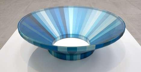 Minimalist Multicolored Tables