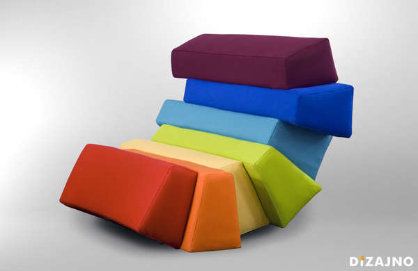 Comfy Color-Blocked Seaters