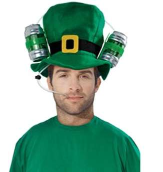 Double-Fisted Drinking Hats