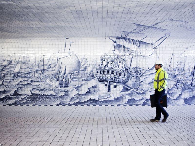 Nautical Transit Murals