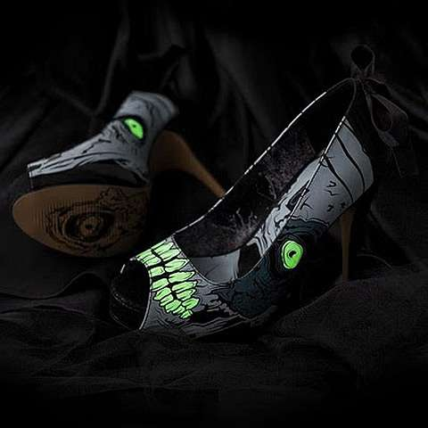 Horrifying Light-Up Pumps