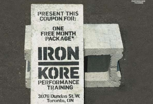 Iron Kore Concrete Coupons