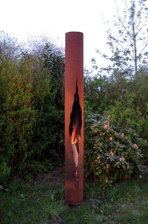Outdoor Fire Totems
