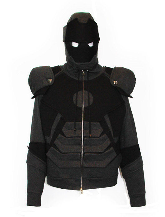 Blacked-Out Superhero Sweatshirts