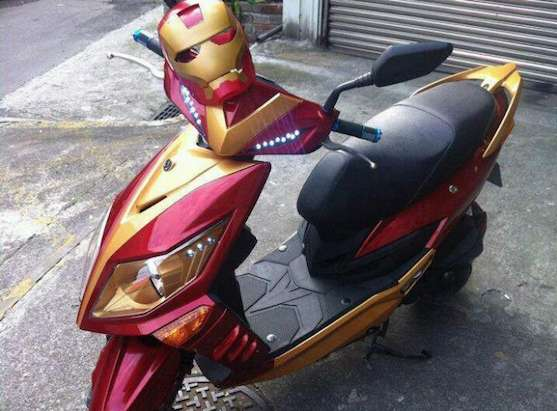 Rad Superhero Rides