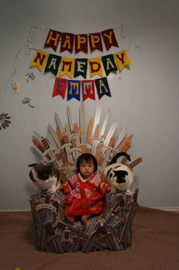 Iron Throne Birthday Parties